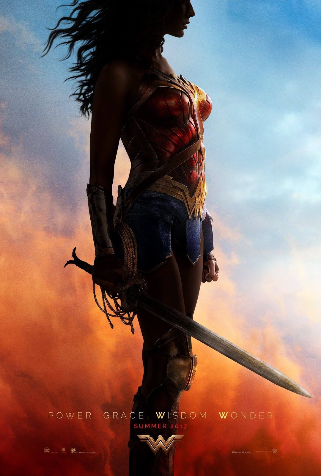 Wonder Woman First Movie Poster