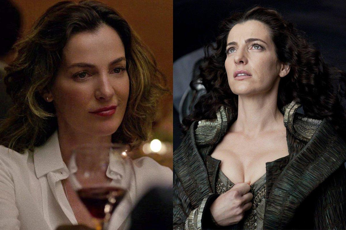 Ayelet Zurer – Wilson Fisk's Girlfriend Vanessa (Marvel) Vs. Superman's Mom (DC)
