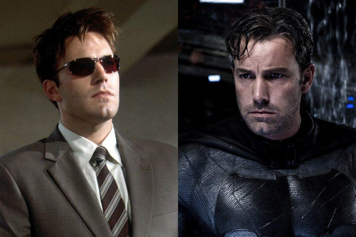 Ben Affleck – Daredevil (Marvel) Vs. Batman (DC)
