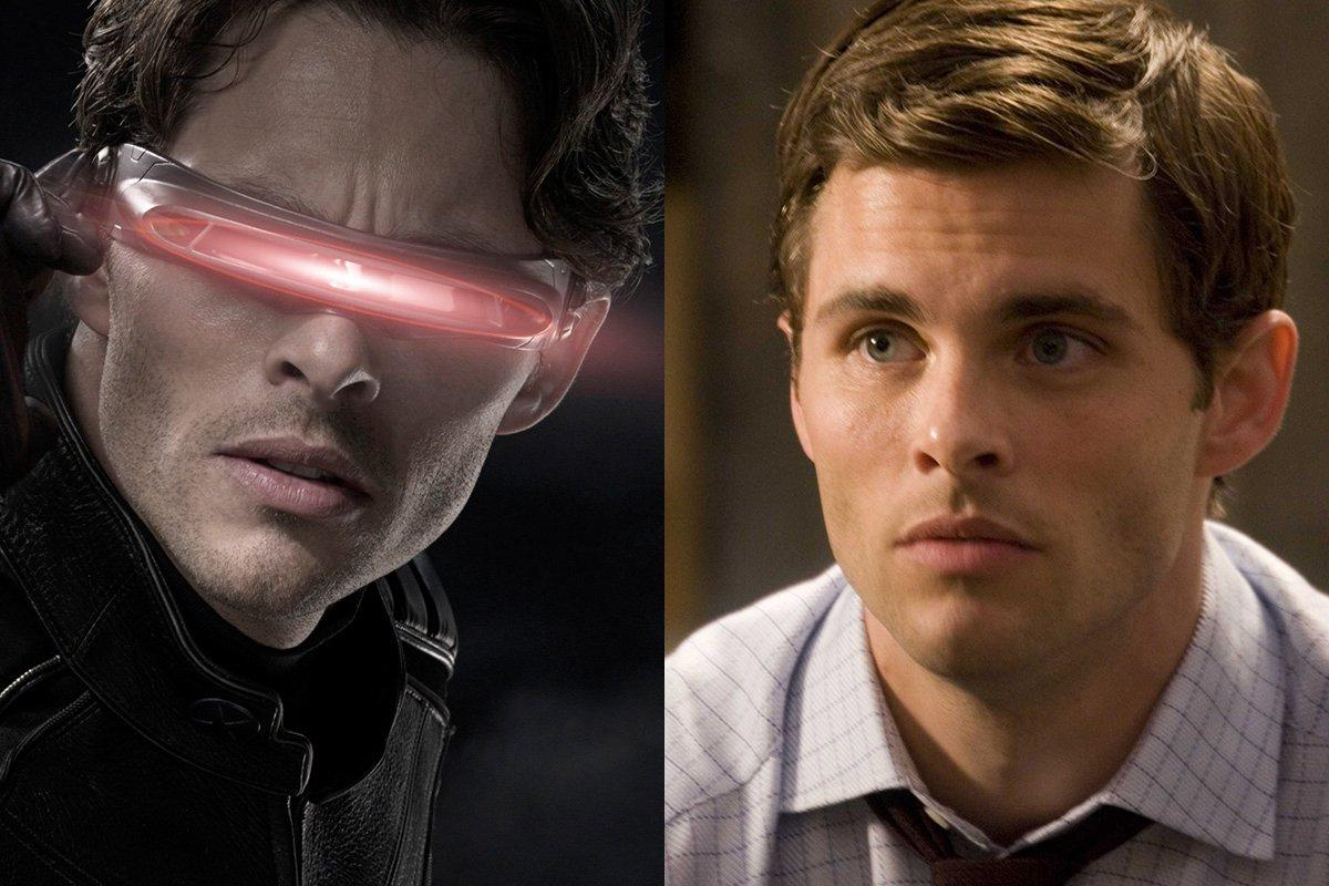 James Marsden – X-Men/Cyclops (Marvel) Vs. Richard White/Mr. Lois Lane (DC)