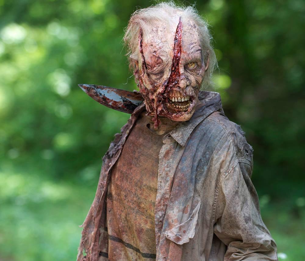 Φωτογραφία με ζόμπι από την έκτη σεζόν του The Walking Dead