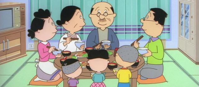 Στιγμιότυπο από την τηλεοπτική anime σειρά του Sazae-san.