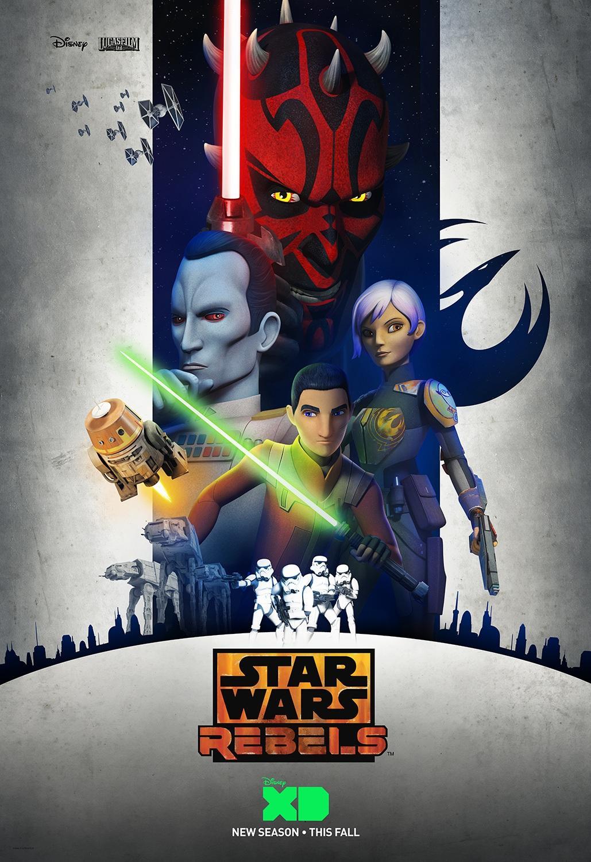 Star Wars Rebels Season 3 Poster 2016