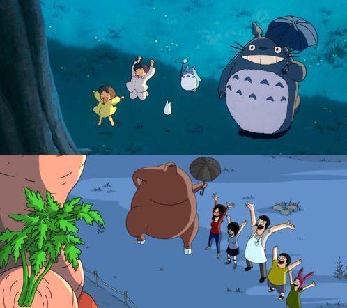 To Bob's Burgers κάνει ένα φόρο τιμής στο Totoro