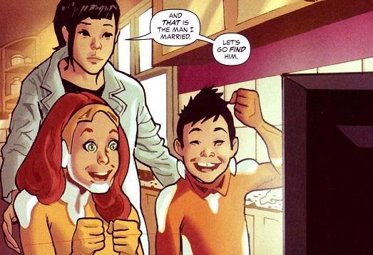 Μητέρες χαρακτήρες σε κόμικς