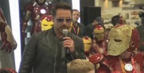 Εμφάνιση έκπληξη του Robert Downey Jr στο Comic-Con 2012 [Video]