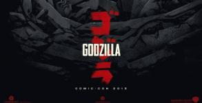 Godzilla [Official Comic-Con 2013 Movie Poster]