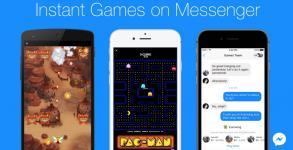 Το Facebook Messenger εγκαινιάζει τα Instant Games